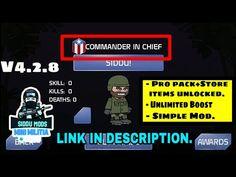 Mini Militia simple mod || Rank hack mod || V4.2.8||COMMANDER IN CHIEF rank|| SIDDU MODS|| - YouTube Anime Websites, Hacks, Simple, Mini, Youtube, Youtubers, Youtube Movies, Tips