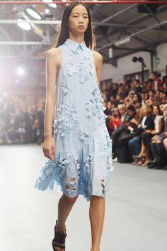 J. JS Lee at London Fashion Week Spring Summer 2016