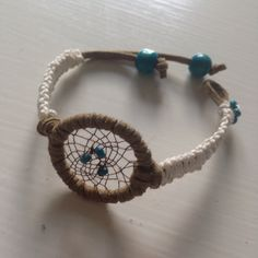 dreamcatcher bracelet (photo only) Dream Catcher Bracelet, Dream Catcher Craft, Dream Catchers, Hippie Jewelry, Beaded Jewelry, Handmade Jewelry, Braclets Diy, Bracelets, Dreamcatchers Diy