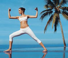 Feel Younger With Yoga -   Turn back the clock with this exclusive yoga and weights workout and unveil a leaner, more youthful you.