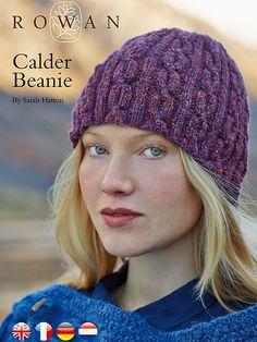 Ravelry: Calder Beanie pattern by Sarah Hatton- free knitting pattern