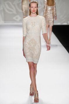 Monique Lhuillier Spring 2014 | New York Fashion Week