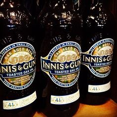 Innis & Gunn * Toasted Oak IPA * English India Pale Ale (IPA) | 5.60% ABV#hops#beers #paleale #craftbeer #beerporn #ale #labels