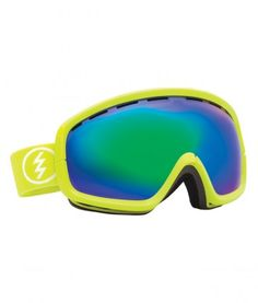 a6d39b721037 Electric 2014 EGB2S Goggles Toxic Snot   Grey Green Chrome