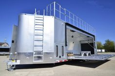Pictures for Ad # 79675 - x 32 Marketing Trailer w/Stage Best Trailers, Custom Trailers, Cargo Trailers, Trailer Build, Food Trailer, Custom Bbq Pits, Gooseneck Trailer, Rv Accessories, Caravan