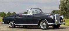 Vollrestaurierter Mercedes-Klassiker: 1958er Ponton 220S Cabriolet