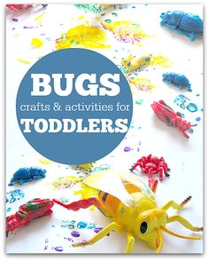 Activities For Toddlers Toddler bug activities ! Perfect for 3 year olds! Perfect for 3 year olds! Craft Activities For Toddlers, Bug Activities, Activities For 2 Year Olds, Spring Activities, Indoor Activities, Toddler Art, Toddler Crafts, Crafts For Kids, Easy Crafts