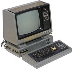 TRS-80 Model I or Trash 80 as they were known when I went to college.