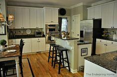 wall colour, cabinet colour, countertops - PERFECTION