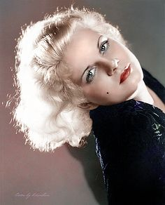 Jean Harlow another natural beauty