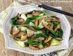 Bok Choy Sauté with