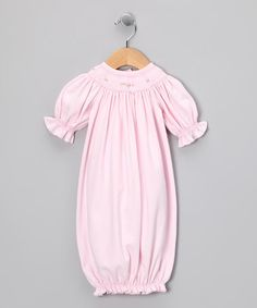 Another great find on #zulily! Pink Bishop Gown - Infant #zulilyfinds