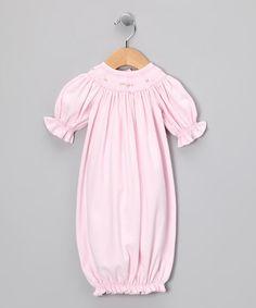 Love this Pink Bishop Gown - Infant on #zulily! #zulilyfinds