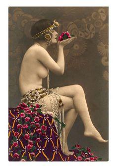 Cartes postales érotiques des Années Folles   Le Cabinet de Curiosités de Madeleine Miranda