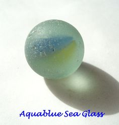 Sea Glass Seaglass  Marble From Puerto Rico  by aquablueseaglass, $9.99