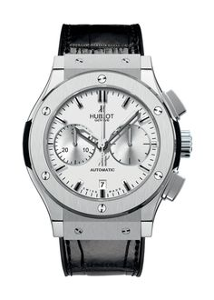 Classic Fusion Titanium Opalin Chronograph watch from Hublot