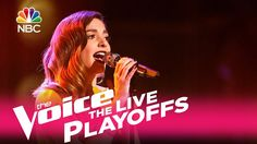 """The Voice 2017 Lilli Passero - Live Playoffs: """"It's Too Late"""""""