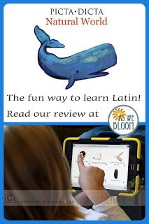 As We Bloom: Picta Dicta Natural World - Learn Latin the Fun Way (A Review)