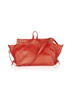 Dropped-side Jerome Dreyfuss Carlos Leather Tote