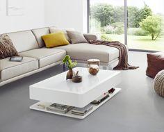 #OraHome #LED Tisch m. #moree  La beauté d'une table basse , au décor design et sensuel #illuminated coffee table