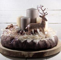Adventskranz,Weihnachtsdeko,Kerzen,Weihnachten von Dekowerk auf DaWanda.com