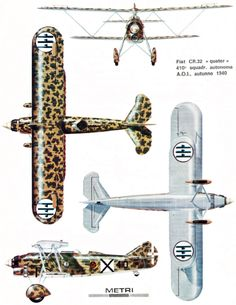 Italian Air Force, Aviation Art, Military Aircraft, Fiat, Scale Models, Airplanes, Iron, Italy, Game