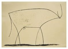 PABLO PICASSO (1881-1973) 'Bull - plate 11', January 17 1946 (lithograph)