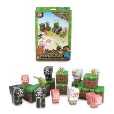Minecraft overworld Hierro Golem De 3 Pulgadas Figura-Articulado Nuevo En Caja