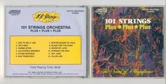 101 STRINGS Orchestra The Sound of Magnificence CD Compact Disc Free S/H USA