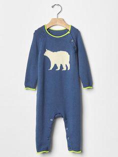 Bear sweater one-piece | Gap