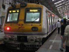 """Mumbai Suburban Railway"".                  # Mumbai, Índia."