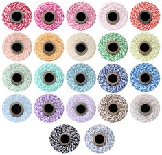Bakers twine 15 yards YOU CHOOSE COLOR - for gift wrapping packaging embellishments treats weddings scrapbooking tags favors. $3.00, via Etsy.