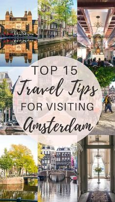 15 very best travel tips for visiting Amsterdam whether you re a first time visitor to Amsterdam or it s your visit to the capital of the Netherlands these tips should help Plenty of practical advice tricks and tips Europe Travel Guide, Europe Destinations, Travel Guides, Holiday Destinations, Places To Travel, Places To See, Road Trip, Fairy Pools, Barbados