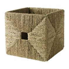IKEA - KNIPSA, Basket, Perfect for newspapers, photos or other memorabilia.</t><t>Sea grass has natural color variations which makes every basket unique.</t><t>Each basket is woven by hand and is therefore unique.