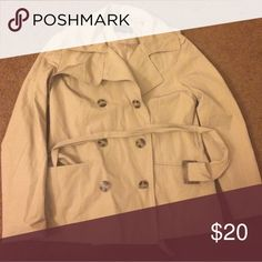 NWOT Forever 21 trench coat Tried on once otherwise new! Very flattering fit, I just got the wrong size. Please let me know if you have any questions! Forever 21 Jackets & Coats Trench Coats