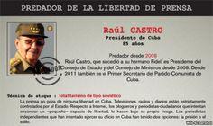Perfil de Raúl Castro que publica Reporteros sin Fronteras