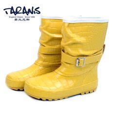 2014 kids shoes child rain boots boys slipresistant rainboots girls fashion water shoes four seasons pink flats shoes $58.80