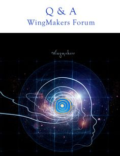 The cover art for the WingMakers Q & A from the forum.