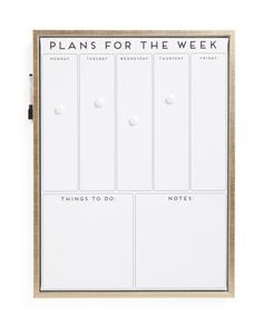 18x24 Metallic Calendar Dry Erase Board