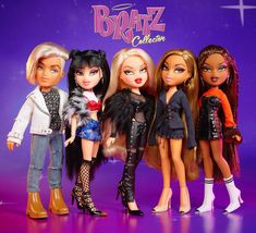 outfits for the Bratz Collector dolls designed by me. Thank you to MGA Entertainment for making my childhood dream to design for Bratz a reality. Hayden Williams, Halloween Outfits, Halloween Costumes, Black Bratz Doll, Bratz Doll Outfits, Monster High Boys, Bratz Girls, Brat Doll, Fashion Dolls
