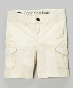 Look what I found on #zulily! Birch Cargo Shorts - Infant & Toddler by Calvin Klein Jeans #zulilyfinds
