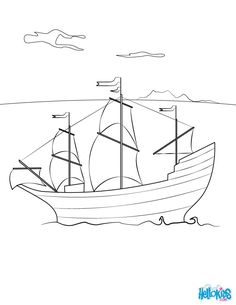 how to draw the mayflower mayflower