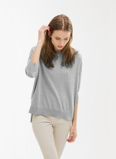 Bobble sweater - Sweaters and cardigans - Ready to wear - Uterqüe Mexico