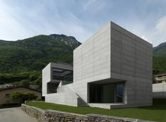 Concrete - House in Lumino - Davide Macullo Architects, found this very appealing after looking at Sanaa Arch