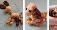 Craft Tutorial: Crocheting a Little New Year Dog: articles and DIYs – Livemaster