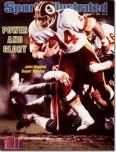 February 1983 - The Washington Redskins, Superbowl XVII Champions. Redskins Super Bowl, Redskins Football, Redskins Fans, Football Players, Washington Redskins, Si Cover, Sports Illustrated Covers, Football Conference, Sports Figures
