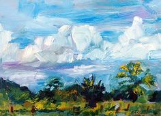 """""""Houston Highway Clouds"""" by Donna Crosby"""