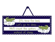 Alligator nursery alligator sign alligator wall by ThePrintedOwl Boys Room Decor, Boy Room, Kids Room, Alligator Nursery, Navy Blue Decor, Toddler Crocs, Sweet Dreams Baby, Wooden Signs With Sayings, Baby Cooking