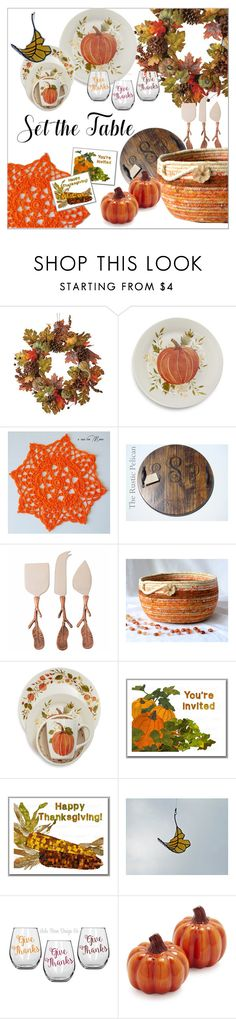 """Set the Table"" by apple-named-doris ❤ liked on Polyvore featuring interior, interiors, interior design, home, home decor, interior decorating, Home Decorators Collection, Sur La Table, Tag and setthetable"