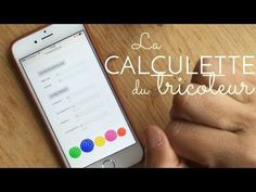 La calculette du tricoteur Casting On Stitches, Cleaning Hacks, Lana, Sewing Crafts, Diy Crafts, Knit Crochet, Knitting Patterns, It Cast, Embroidery